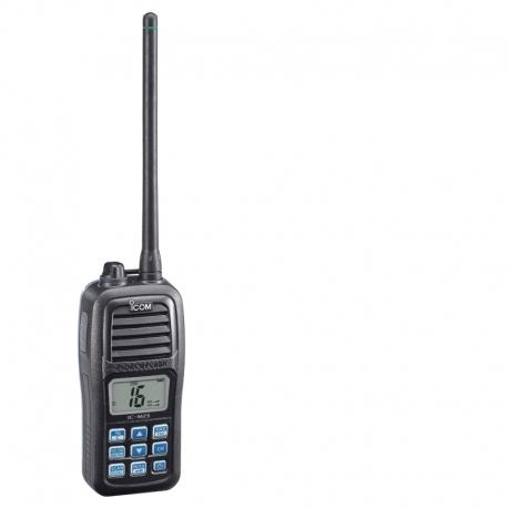 IC-M23 ICOM jūrinė nešiojama radijo stotelė